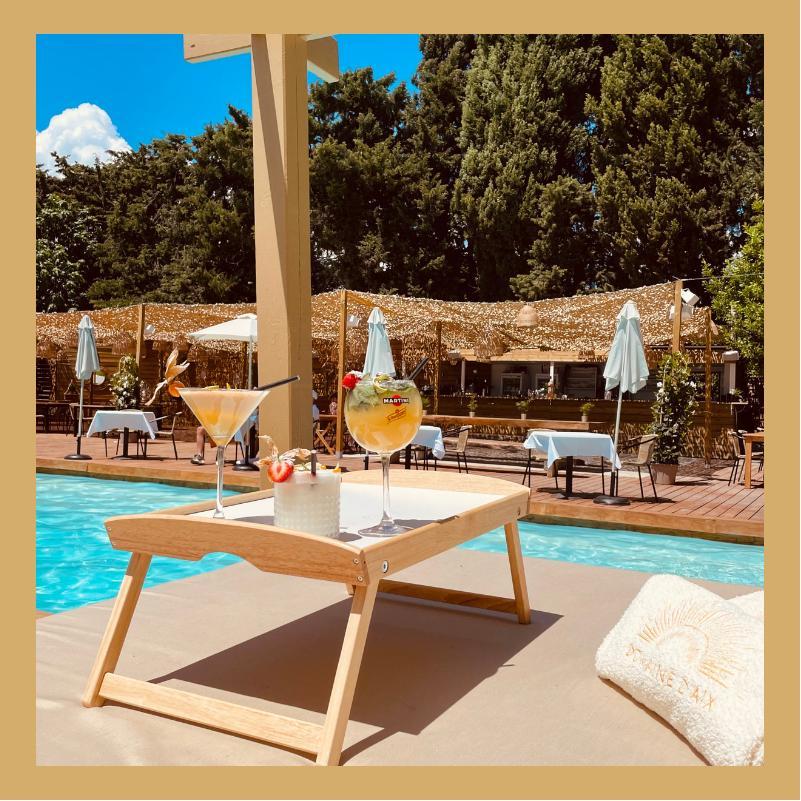 piscine privée au domaine d'aix